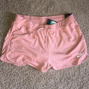 Pink soft Nike shorts